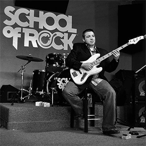 Travis at School of Rock